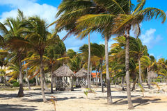 Area of hotel Sol Cayo Guillermo. Stock Photo