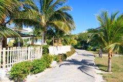 Area of hotel Sol Cayo Largo. Cuba stock photos