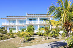 Area of hotel Sol Cayo Largo. Cuba stock image