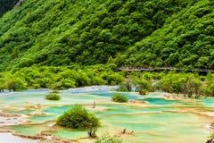 area huanglong scenic Στοκ φωτογραφίες με δικαίωμα ελεύθερης χρήσης