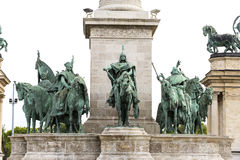 The area of Hungarian heroes Budapest Stock Photography
