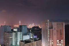 an area of industry at Tsuen Wan stock photos