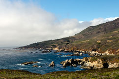 Area irregolare di Californias Big Sur Fotografia Stock