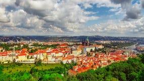 Area Lesser Town of Prague(Mala Strana). Near the church Saint Vitus, Ventseslaus and Adalbert. Czech Republic Stock Photo