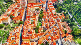 Area Lesser Town of Prague(Mala Strana). Near the church Saint Vitus, Ventseslaus and Adalbert. Czech Republic Royalty Free Stock Photos