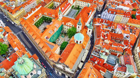 Area Lesser Town of Prague(Mala Strana) Royalty Free Stock Image