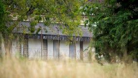 Area limitata della base militare sul più forrest tropicale Immagini Stock Libere da Diritti
