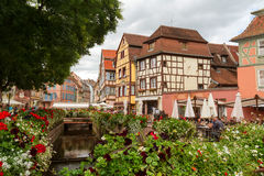 Area Little Venice in Colmar. Royalty Free Stock Photo