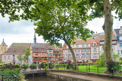 Area Little Venice in Colmar. Royalty Free Stock Images