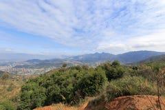Area montagnosa nordica della città di xiamen Immagini Stock