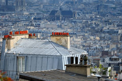 Area Montmartre Royalty Free Stock Photography