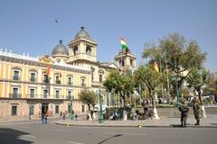 The area of Murillo in La Paz Stock Photo