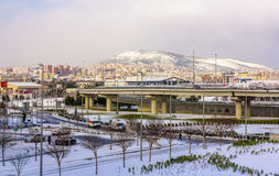 Area near Sabiha Gokcen International Airport in Istanbul - Tukr. Ey Stock Images