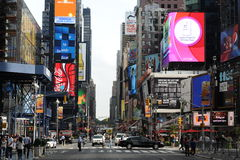 Area near Times Square Royalty Free Stock Photos