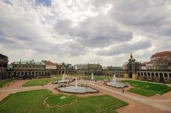 Area nella città di Dresda Fotografia Stock