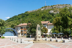 The area in the old Lovech in Bulgaria stock photos