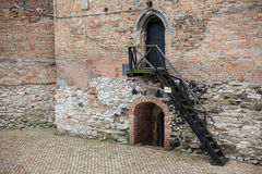 Area of old Lubart castle in Lutsk Ukraine Stock Photo