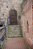 Area of old Lubart castle in Lutsk Ukraine Stock Images