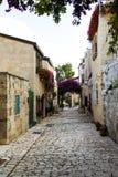 Area of old restored Jerusalem Royalty Free Stock Images