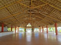Area ombreggiata della stazione balneare Immagini Stock Libere da Diritti
