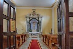 Area of  prayer in ancient Euphrasian Basilica in Porec Royalty Free Stock Photography