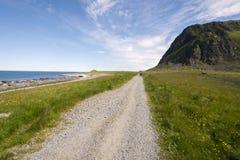 Area protetta del parco in Eggun in Norvegia Immagine Stock