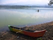 Area reservoirs gembong Royalty Free Stock Photos