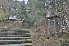 The area of  Rinnoji Temple Royalty Free Stock Image