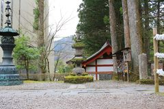 The area of Rinnoji Temple Stock Photography