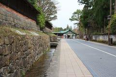 The Rinnoji Temple in Nikko. The area at Rinnoji Temple in Nikko Stock Image