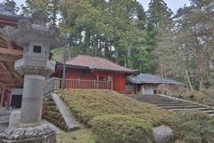 The area of Rinnoji Temple at 2016 Royalty Free Stock Photo
