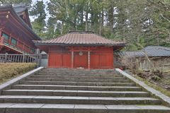 The area of Rinnoji Temple at 2016 Royalty Free Stock Photos