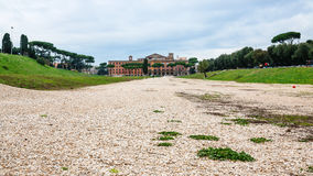 Area of roman Circus Maximus in Rome city Stock Photography