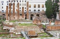 Area sacra romana Fotografie Stock