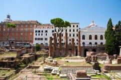 Area Sacra. Rome, Italy. Royalty Free Stock Image