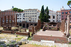 Area Sacra. Rome, Italy. Royalty Free Stock Photos