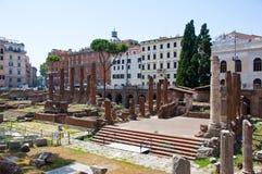 Area Sacra. Rome, Italy. Stock Photos
