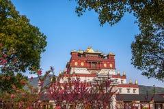 Area scenica cinque Yin Tan City di Buddha del gigante di Wuxi Lingshan Immagini Stock Libere da Diritti