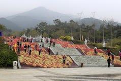 Area scenica di Beichenshan Fotografia Stock
