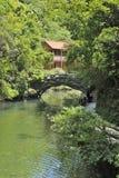 Area scenica vicino al fiume di Xiaofeng Immagine Stock Libera da Diritti