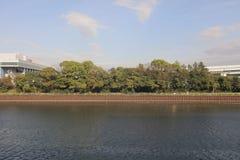 The area of Shinagawa at tokyo, japan Royalty Free Stock Images