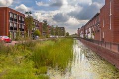 Area suburbana amichevole di Eco Immagini Stock Libere da Diritti
