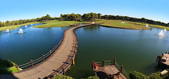 Area of Sueno Golf Club. Stock Image