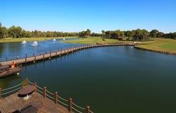 Area of Sueno Golf Club. Royalty Free Stock Image