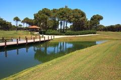 Area of Sueno Golf Club Royalty Free Stock Photos