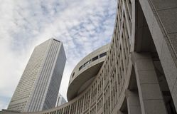 Area of Tokyo Metropolitan Government Building Royalty Free Stock Image