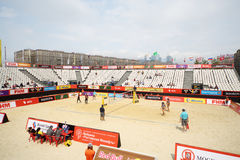 Area for tournament Grand Slam of beach volleyball Stock Photo