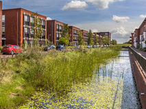 Area urbana amichevole di Eco Fotografia Stock