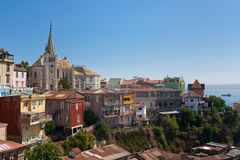 Area of Valparaiso, Chile Royalty Free Stock Photos