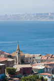 Area of Valparaiso, Chile Stock Photo